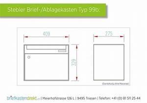 Zimmertüren Maße Norm : stebler briefkasten 99b ral 7016 anthrazit ganzfl chig wandmontage ~ Orissabook.com Haus und Dekorationen