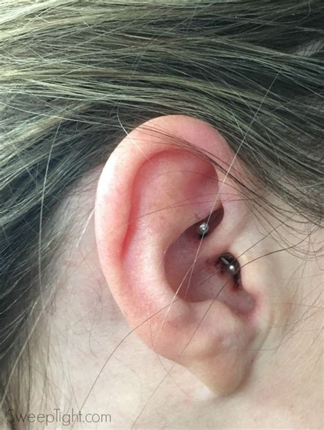 I Tried The Daith Piercing For Migraines A Magical Mess