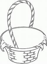 Basket Coloring Fruit Empty Clipart Picnic Drawing Baskets Blanket Apple Pages Template Wicker Easter Clip Sketch Getdrawings Templates Coloringhome sketch template