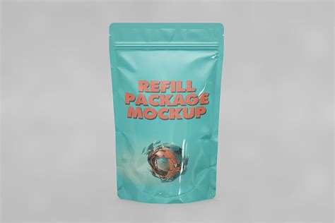 You can easily change the packaging colors and add your own graphics to make it your own thanks to the smart layer. Download This Free Standup Pouch Mockup - Designhooks