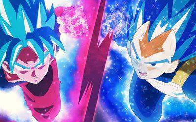 wallpapers goku  vegeta  dragon ball dbs