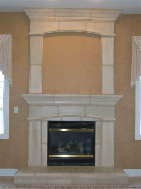 raised hearth fireplaces