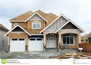 Image Of New Home by New Home House Construction Stock Photography Image 4611732