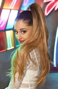 Ariana Grande Herbal Essences Shoot Gotceleb