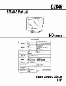 Hp D2846 Chassis N3 Service Manual Download  Schematics