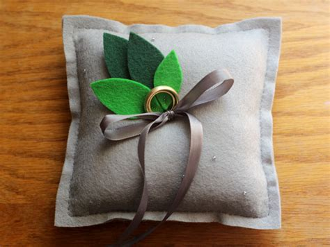wedding ring cushion diy our diy ring pillow elephantine