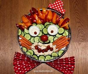 Gemüse Für Kinder : rohkost clown fingerfood kindergeburtstag ~ A.2002-acura-tl-radio.info Haus und Dekorationen