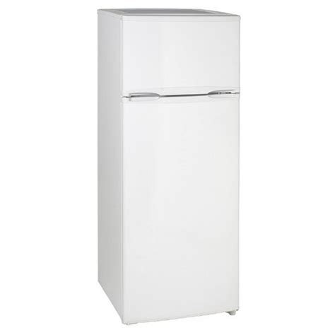 Apartment Size Refrigerator With Freezer by Magic Chef 9 9 Cu Ft Top Freezer Refrigerator In White
