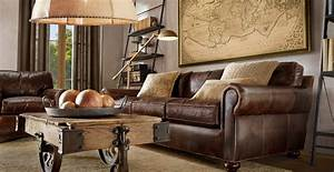 Elegant living room decorating ideas with brown leather for Interior design brown leather sofas