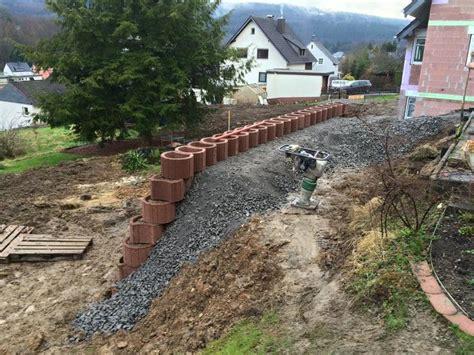 hang befestigen beton erdreich abfangen mischungsverh 228 ltnis zement