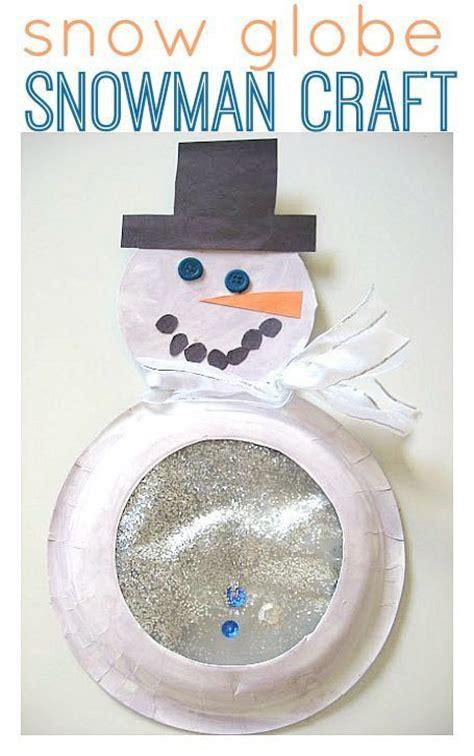 snow globe snowman craft for winter craft winter 497 | 7f91e039ecaf9661aec5de3b5062fe1e
