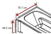 How Wide Is A Standard Tub by Bathtub Length Width And Depth Build