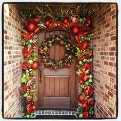 1000 images about Christmas Garlands on Pinterest
