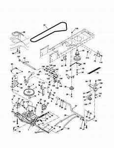 Poulan Pro 300ex Drive Belt Diagram