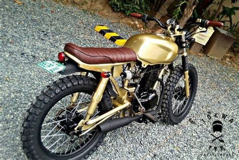 Modif Baik Imeja how to modify bajaj ct100 into a cafe racer how much