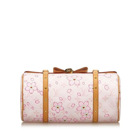 louis vuitton white  multi monogram cherry blossom