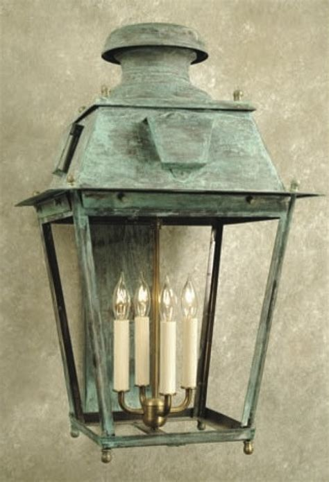 copper exterior light fixtures italy palace antique copper wall l frosted glass
