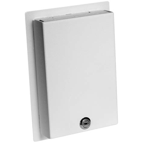 sheet metal cover flush mount locking wall plate cover