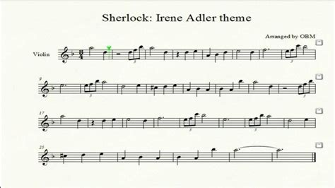 sherlock violin sheet music and then there s music