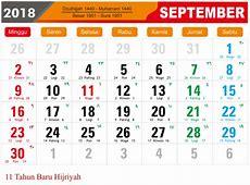 Template Kalender 2018 format JPG dan PNG dengan Kuliatas