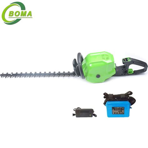good quality electric engine dual blade type hedge cutter municipal