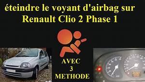 Voyant Clio 2 : teindre le voyant d 39 airbags renault clio 2 tutoriel youtube ~ Medecine-chirurgie-esthetiques.com Avis de Voitures