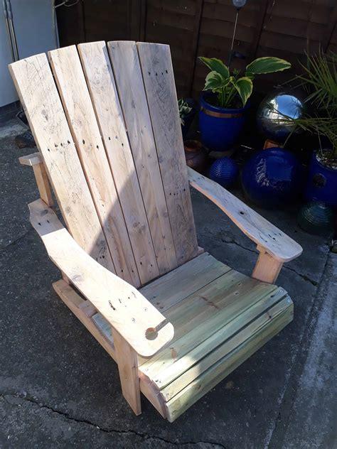 standard pallet adirondack chair   jigsaw