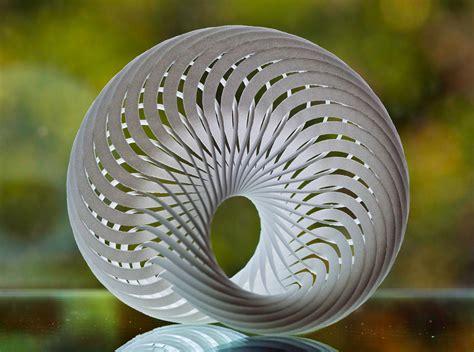 Mobius nautilus, a compound mobius strip made out of 36 ...