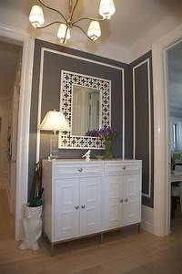 Charcoal Gray Paint Color - Contemporary - entrance/foyer