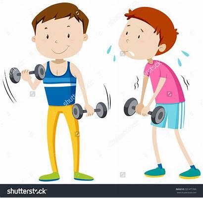 Weak Strong Weakness Clipart Illustration Clipartpanda Shutterstock