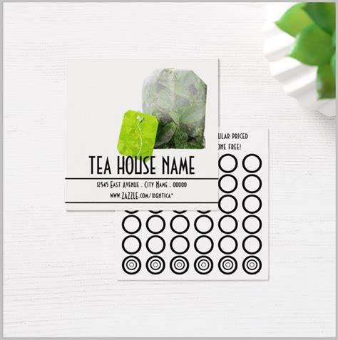restaurant punch card designs templates psd ai