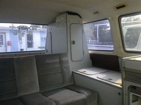 Purchase Used 1982 Vw Vanagon L W/westfalia Interior In