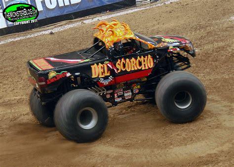 monster truck names from monster jam del scorcho international monster truck museum hall of