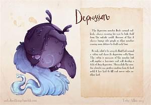 Artist Depicts His Own Anxieties As Cute Monsters In Order