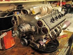 Diy Quarter Scale Fuel Injected Dohc V8 Engine