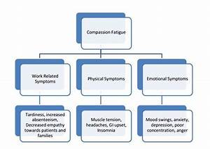 Effects Of Compassion Fatigue  This Diagram Outlines The Physical And Emotional Results Of