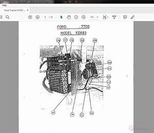 7700 Ford Diesel Tractor Wiring Harnes Diagram
