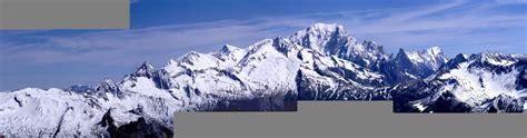 panoramas de haute montagne