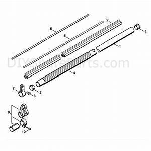 Stihl Ht 100 Pole Pruner  Ht100  Parts Diagram  Drive Tube Assembly