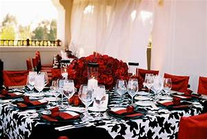Black, Red & White Wedding | Wedding Flair