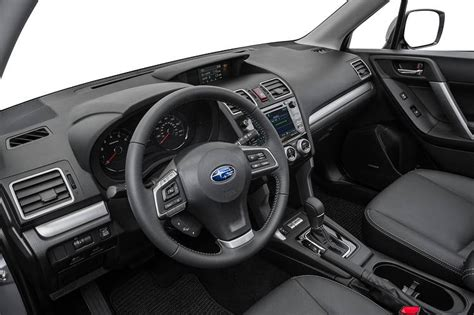 2016 subaru forester interior subaru forester choosing function over form wsj
