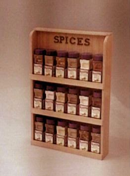 Spice Rack Plans by Spice Rack Plans Free Easy To Follow How
