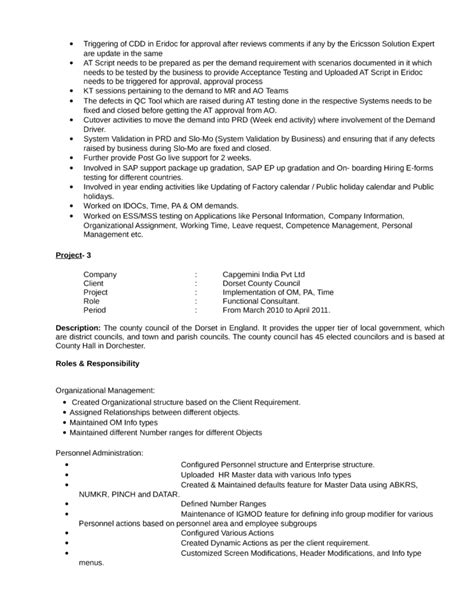 Exle Resume It Consultant by Exle Consulting Resume 57 Images Engineering