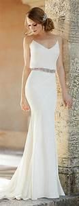 la robe de mariee simple et elegante 70 photos pour With robe de mariée élégante