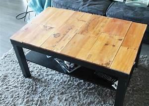 Table Basse Caisse Bois : tuto customiser une table basse avec des caisses de vin caisse table basse et vin ~ Nature-et-papiers.com Idées de Décoration