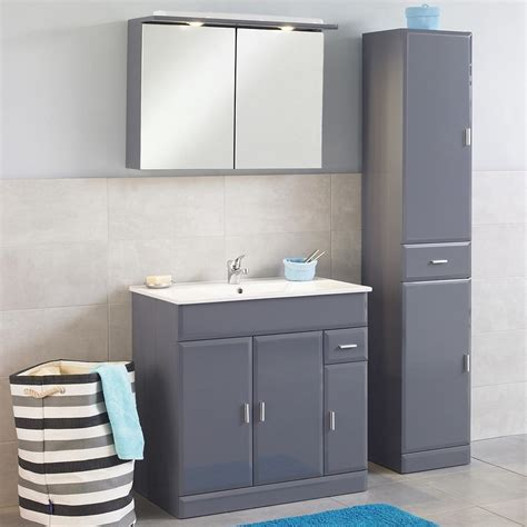 meuble cuisine bricorama meuble de salle de bain aloha 80 gris meuble de salle de