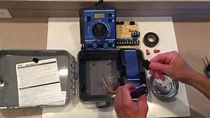 Irritrol  U0026 Hardie Rain Dial Transformer Removal  U0026 Repair