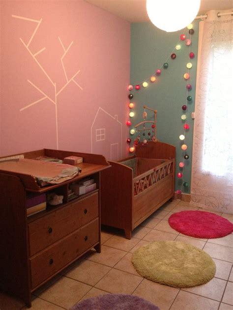 chambre lilou déco de chambre de lilou avec masking guirlande de