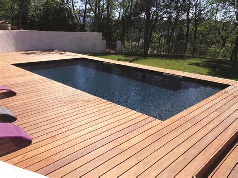 piscine bois enterree rectangulaire piscine bois forme rectangulaire marseille 183 bluewood