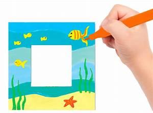 Cadre à Décorer : d corer un cadre photo rectangulaire offrir en cadeau ~ Zukunftsfamilie.com Idées de Décoration
